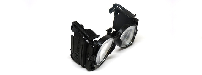 Devkit(early adopter) with removable blinders
