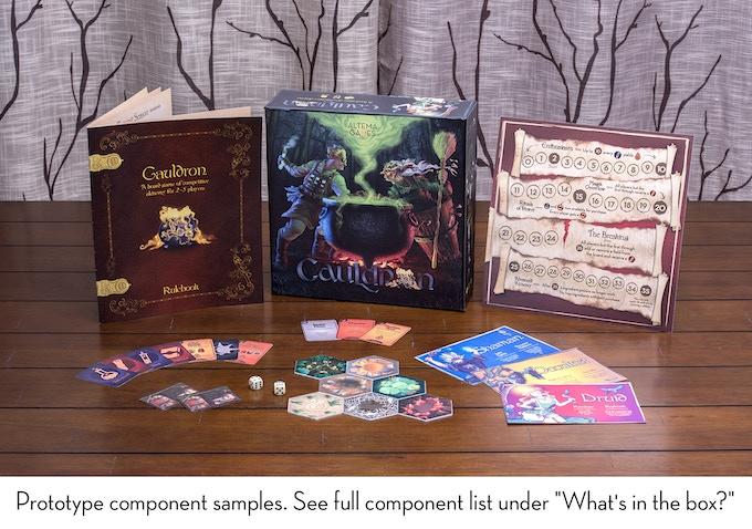 cauldron a board game of competitive alchemy by artem safarov kickstarter. Black Bedroom Furniture Sets. Home Design Ideas