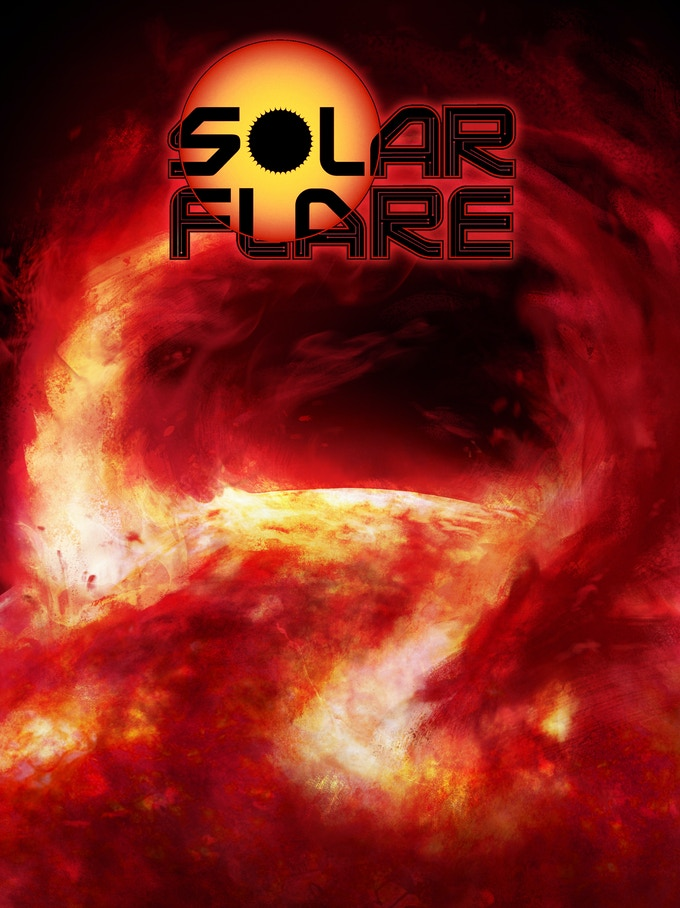 Solar Flare #2 Painted Cover
