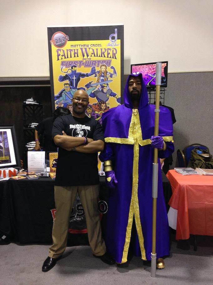 Clint and Faith Walker at Alpha Omega Con