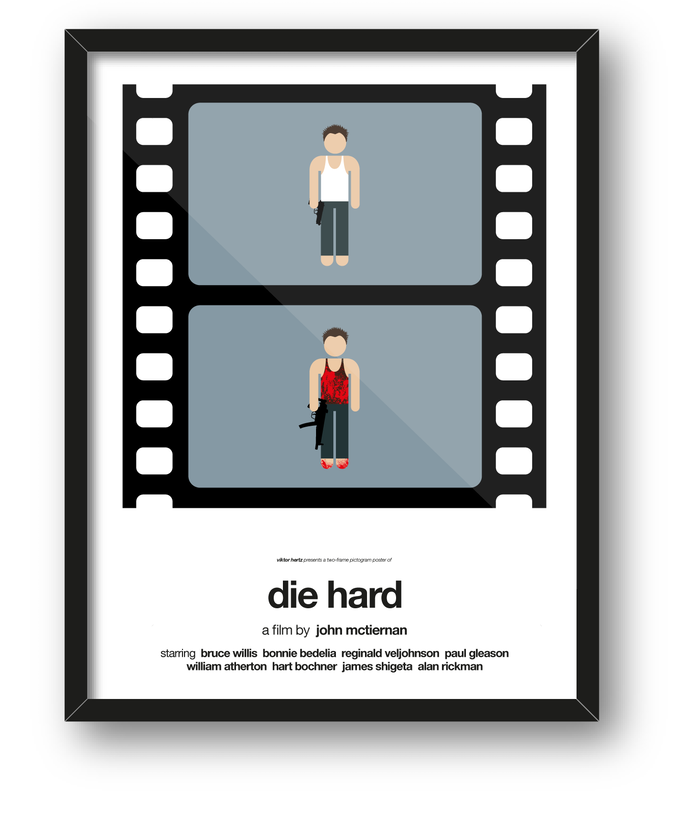 Die Hard: second additional poster to be printed if 2nd stretch goal is reached.