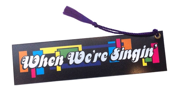 "The unsigned version of our souvenir Book Mark! Both versions measure 7 1/4"" X 2""!"
