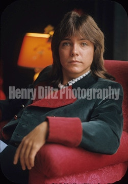 An original 8 X 10 Henry Diltz photo offered exclusively for this campaign! David Cassidy in Paris.