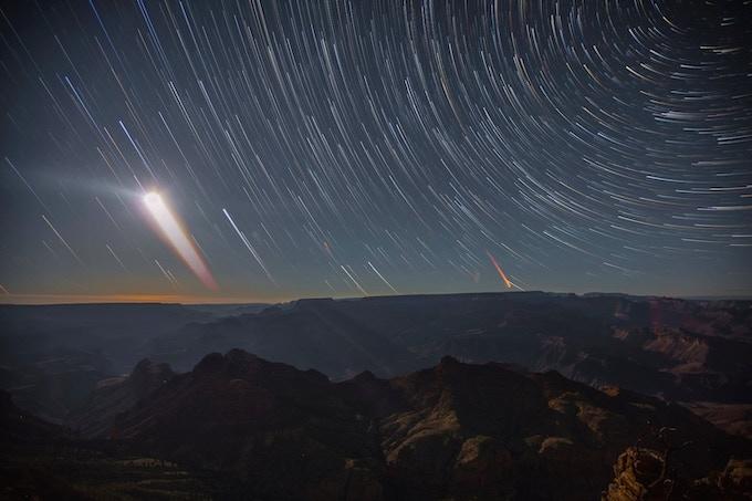 Grand Canyon Moonrise by Harun Mehmedinovic
