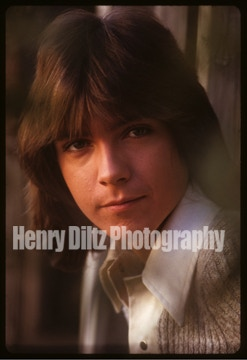 "Exclusively offered by Henry Diltz, this 8 X 10 photo is an outtake from the sessions that produced the photos used on David's first solo album, ""Cherish!"""