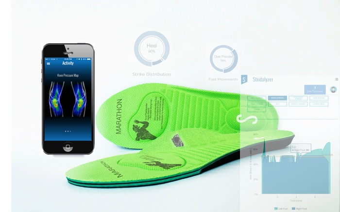 Running Wearable to help Improve Running Form, Stay injury-free and Run Better! ONLY wearable with knee injury prevention guidance!