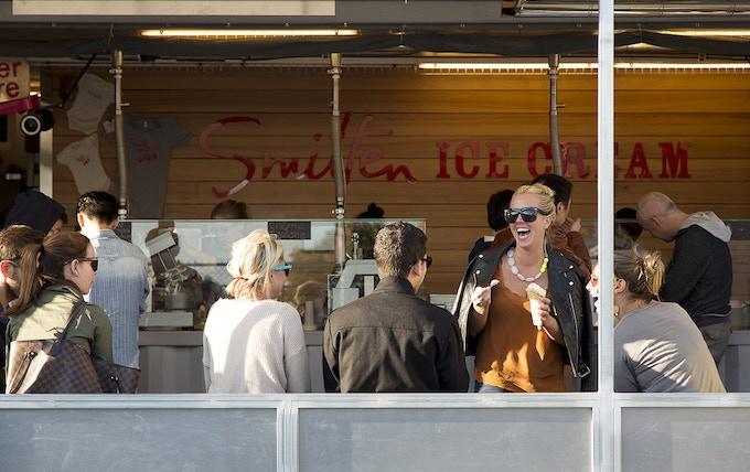 Smitten Ice Cream consistently delivers big smiles. © Matthew Millman 2012.