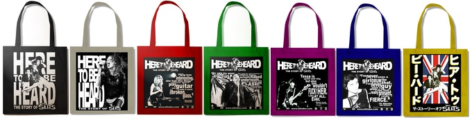HTBH Tote Bags, with color options