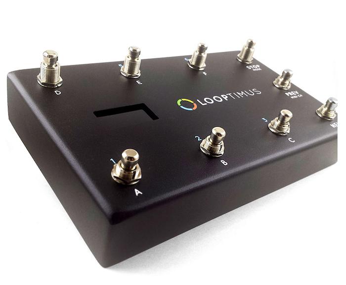LOOPTIMUS USB MIDI Foot Controller by LoopCommunity com
