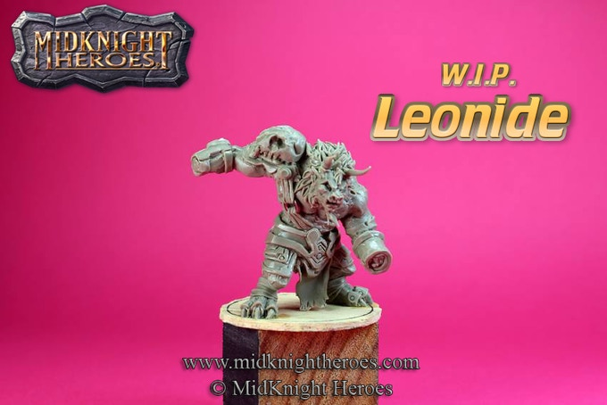 W.I.P. of Leonide by Fancagne Didier