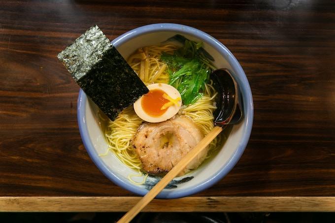 Yuzu Shio Ramen, Tokyo Japan. Photograph by City Foodsters