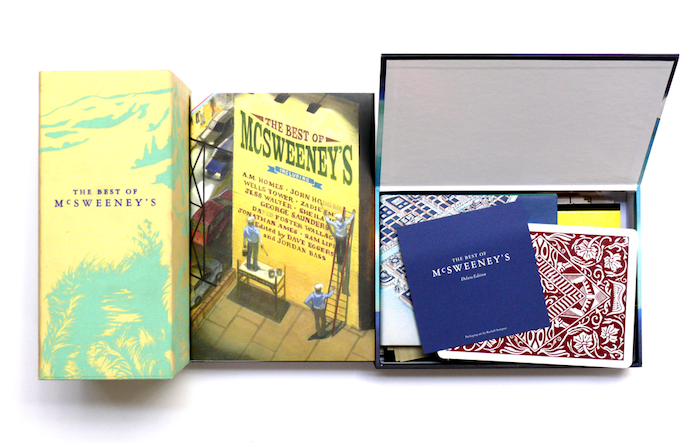 For $100: The Best of McSweeney's Deluxe box set—plus a tote to carry it in, and a digital bundle to read when you leave it at home.