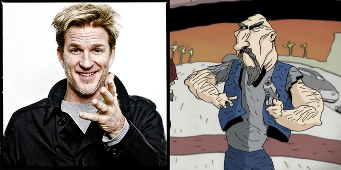 "Matthew Modine will voice ""Sid"" in REVENGEANCE"
