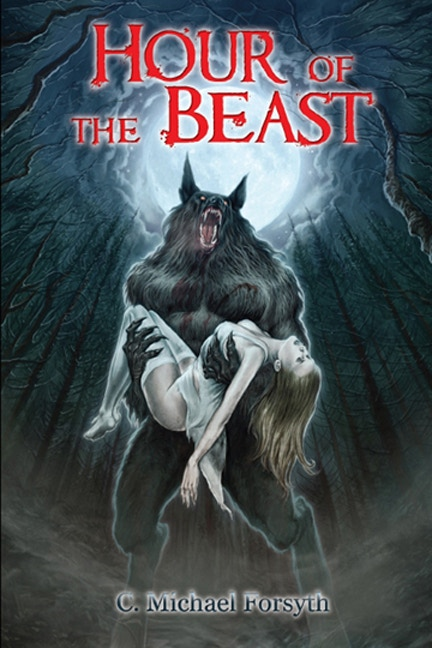 """A gorgeous 36"""" X 24"""" poster of the cover of Hour of the Beast is one of the many rewards for backers."""