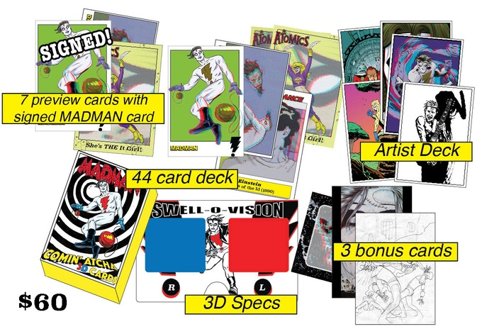 NOTE: These are prototype cards printed on cardstock.