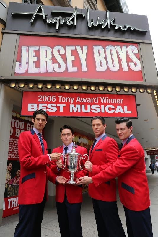 Winning trophies on Broadway with the NYC JBs