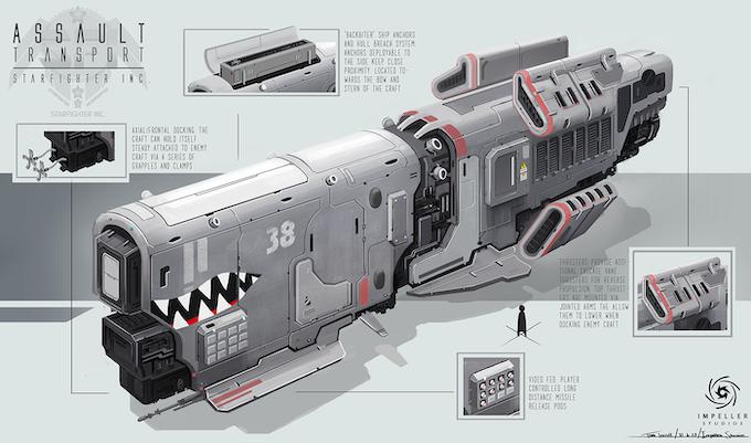 Assault Transport Concept (Design subject to change)