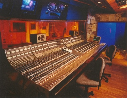 Our 64-channel Neve 8068 in the Plant, Sausalito