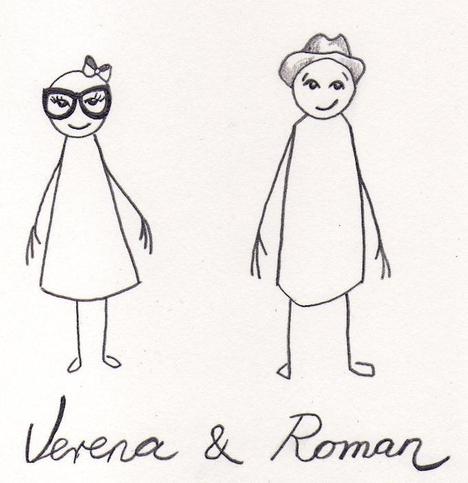 Verena (graphics), Roman (idea)