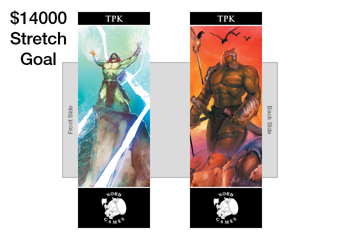 New Bookmarks Title and New Artwork! Comes in GM Packs in all three color borders (UNLOCKED)