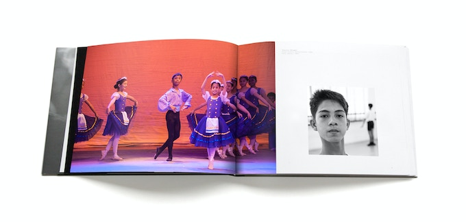 layout sample of the art book
