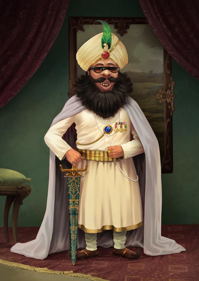 Maharaja by Raghukamath