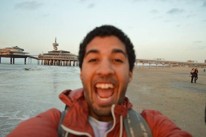 Happy at the beach :))