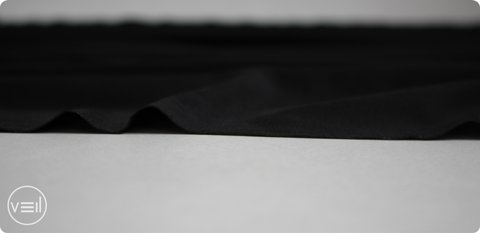 Using lasers to cut our fabric results in sharp and sealed edges.