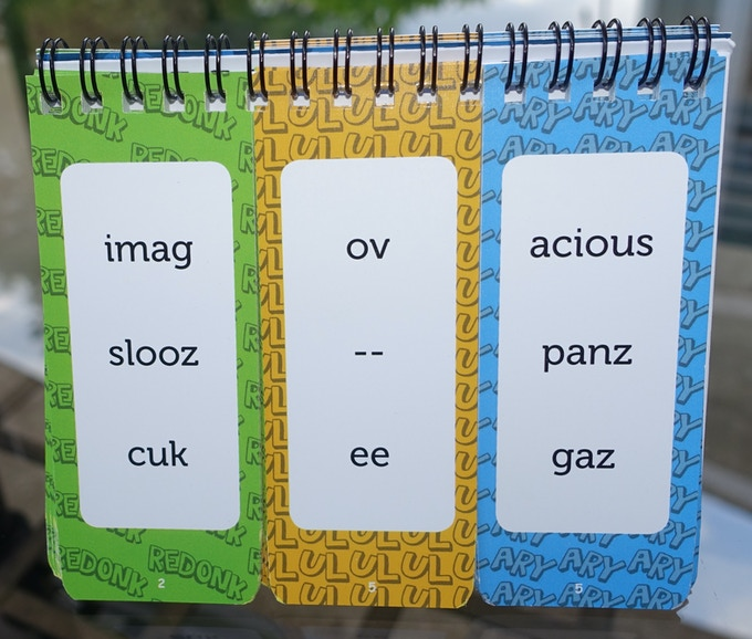 """What word would you make up? """"slooz-ee-acious""""? """"cuk-ee-panz""""? """"imag-acious""""? You decide!"""