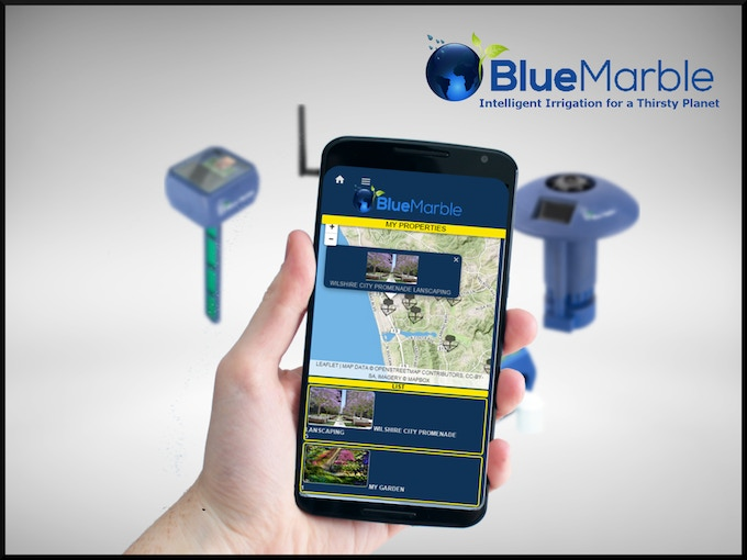 The free Blue Marble app is a delightful window onto your automated garden. It is easy-to-use and runs on Apple, Android, or from your remote Internet browser!
