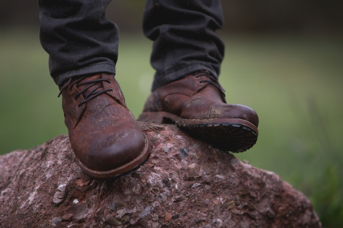SHILOH Boot in Rust Brown