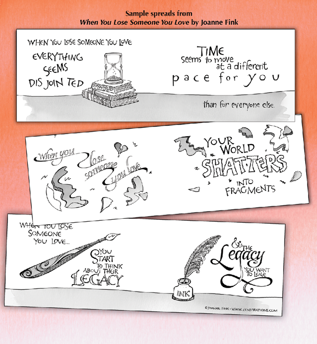 When You Lose Someone You Love Book On Kickstarter By Joanne Fink