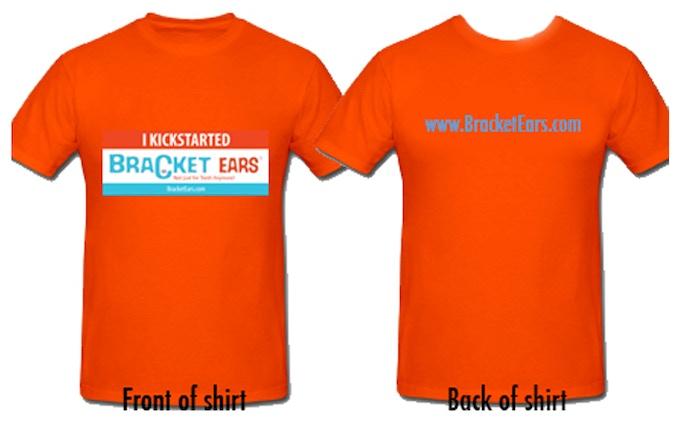 """""""I Kickstarted BracketEars"""" T-Shirt"""