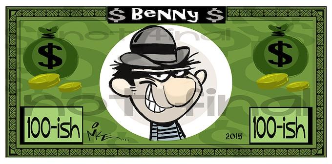 "Counterfeit ""Benny"""