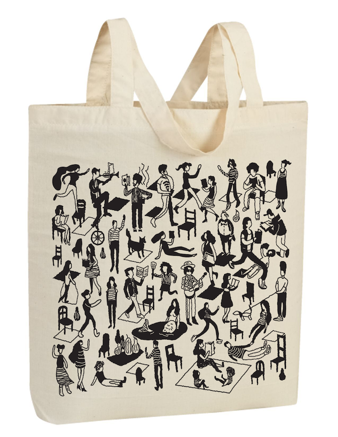 For $35: This beautiful and bookish limited-edition McSweeney's tote bag designed by Sunra Thompson.
