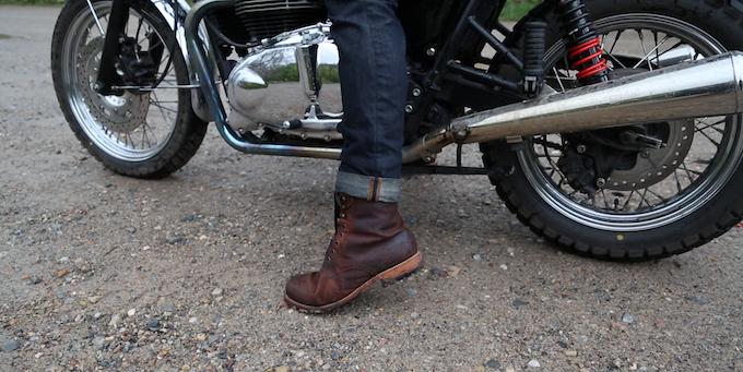 FAIRFAX Boot in Rust Brown