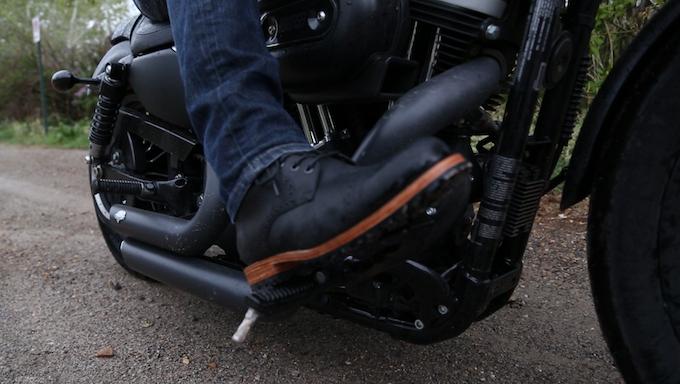 FAIRFAX Boot in Natural Black