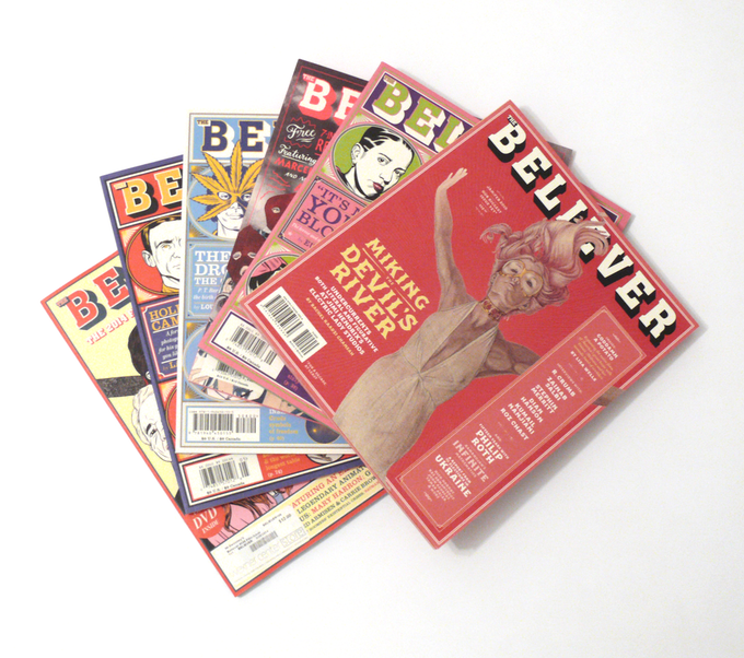 For $70: Six all-new issues of the Believer, plus our tote and digital bundle.