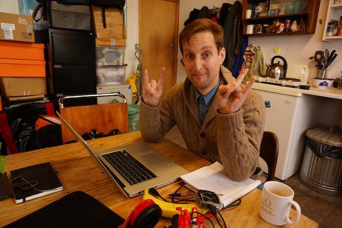 Rhys Thwaites-Jones, our edit producer for Karun