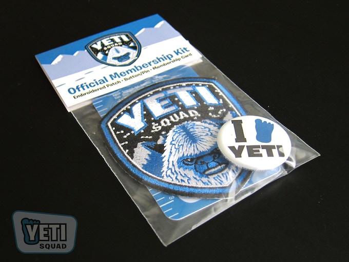 """""""Yeti Squad"""" Membership Kit"""
