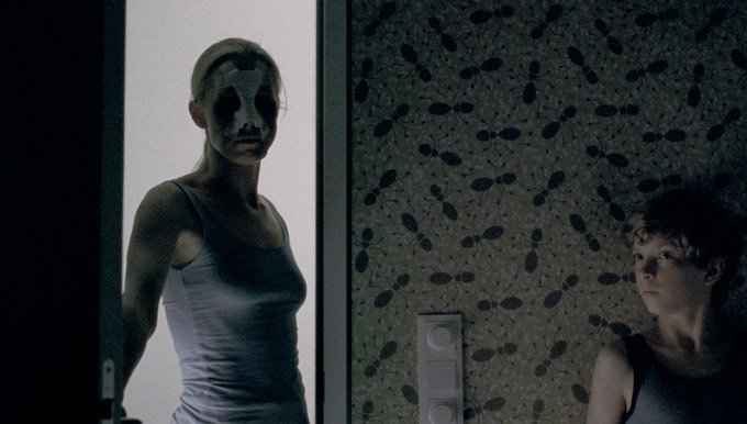 Severin Fiala and Veronika Franz's terrifying Goodnight Mommy, a bone-chilling psychological thriller about two young boys who can't figure out what has happened to their mysteriously altered mother. Courtesy of RADiUS-TWC.