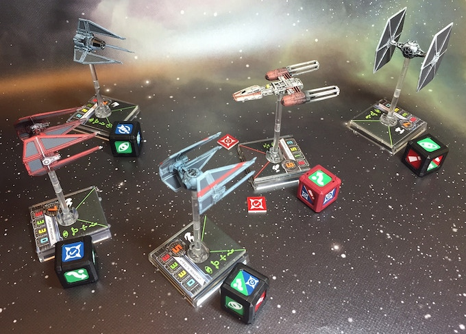 Dogfight ModCubes in action!
