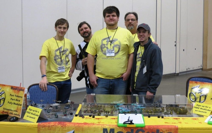 Part of the ModCube team at AdeptiCon!