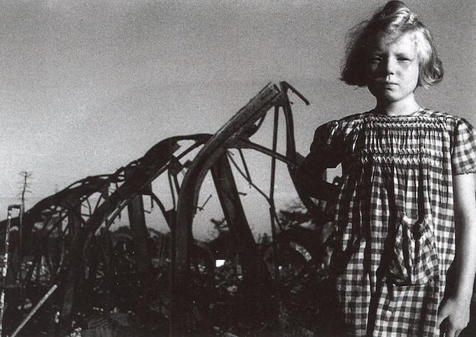 Dacia Maraini, Nagoya 1945. © Fosco Maraini