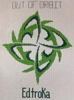 Edtroka Nsiloq design cross stitch