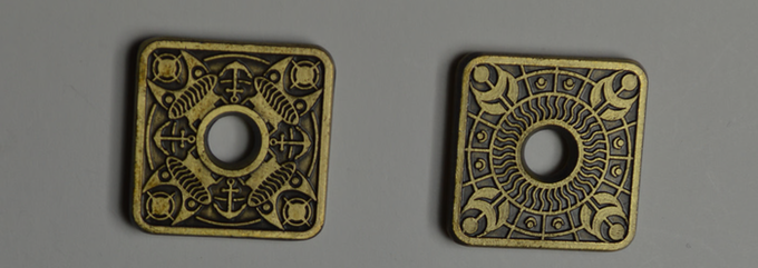 25mm x 3mm:  Final version will be Antique Gold