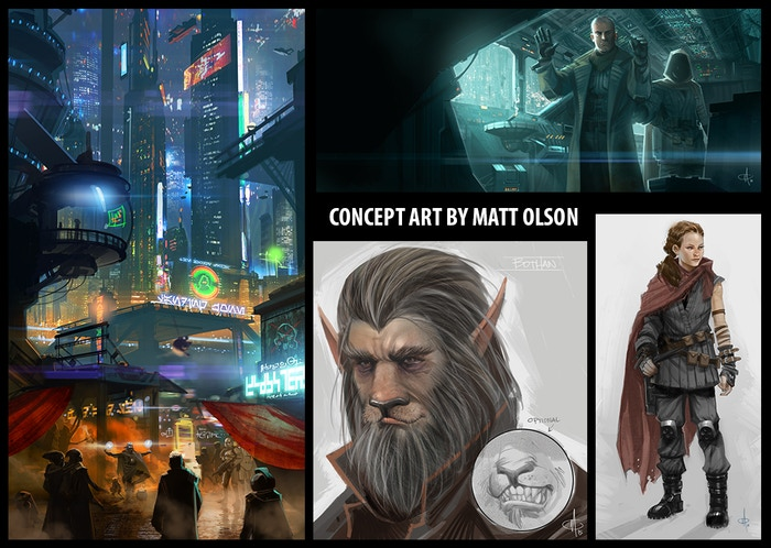 Concept arts du fan film The Recompense