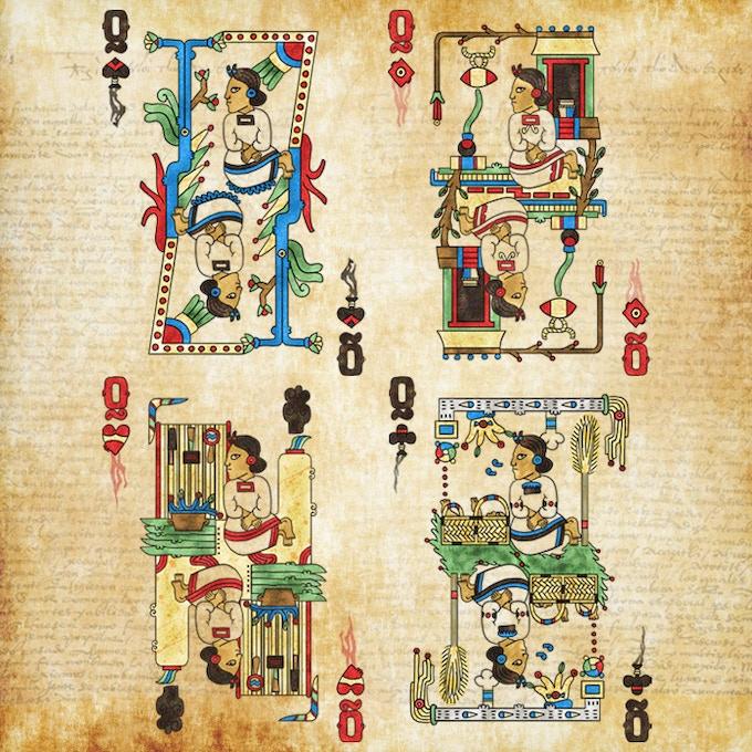 Aztec Codex Playing Cards by Emmanuel Valtierra — Kickstarter