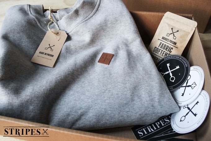 This is how your crewneck will be delivered on your doorstep