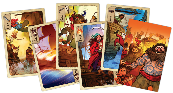 Cards from Tides of Infamy